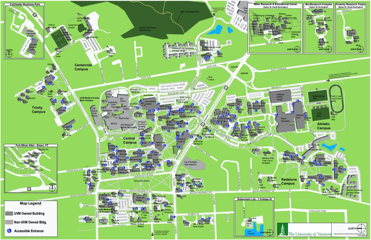 Mid Pacific Institute Campus Map.Netsci 2019 The University Of Vermont Complex Systems Center